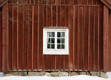 Traditional swedish house in Skansen, Stockholm Stock Images