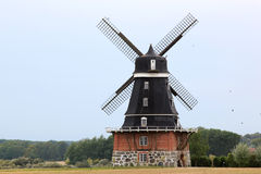 Traditional Swedish Mill of Soevestad, Sweden stock photos