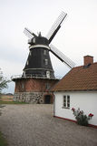 Traditional Swedish Mill of Sovestad, Sweden Royalty Free Stock Photography