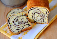 Traditional sweet bread Royalty Free Stock Image