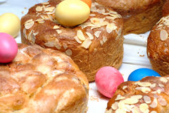 Traditional sweet bread Stock Images