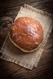 Traditional sweet donut. royalty free stock photo