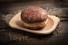 Traditional sweet donut. stock photography