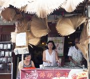 Traditional sweet snacks roadside stall Stock Images