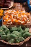 Traditional sweets at Corpus Christi celebration in Ecuador Royalty Free Stock Photography