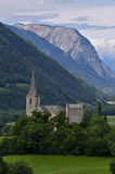 Traditional swiss church Royalty Free Stock Photo