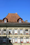 Traditional Swiss house Stock Image