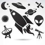 Traditional symbols of cosmos and universe. Stock Photography