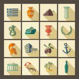 Traditional symbols of Greece Royalty Free Stock Photography