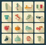 Traditional symbols of Italy Stock Image