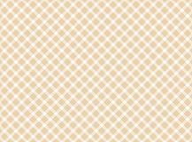 Traditional tablecloth pattern brown white. Traditional tablecloth pattern diagonal - Brown White Royalty Free Stock Photography