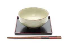 Traditional tableware of Japan Royalty Free Stock Photos