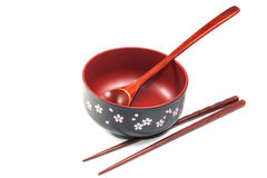 Traditional tableware of Japan Royalty Free Stock Images