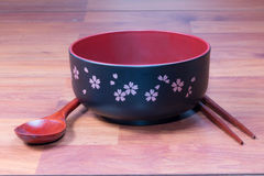 Traditional tableware of Japan Royalty Free Stock Photography