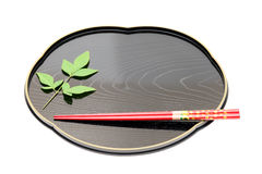 Traditional Tableware Of Japan Royalty Free Stock Image