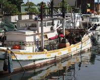Traditional Taiwan Fishing Boat Royalty Free Stock Image