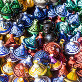 Traditional Tajine vessels in Morocco Royalty Free Stock Images
