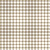 Tan Gingham Seamless Pattern vector illustration