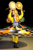 Traditional Tanoura dancer. Royalty Free Stock Photo
