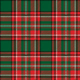 Traditional tartan seamless pattern Royalty Free Stock Image