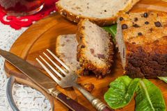 Traditional tasty pate. Royalty Free Stock Image