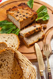 Traditional tasty pate. Royalty Free Stock Images