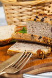Traditional tasty pate. Royalty Free Stock Photography