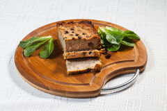 Traditional tasty pate. Royalty Free Stock Photos