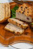 Traditional tasty pate. Royalty Free Stock Photo
