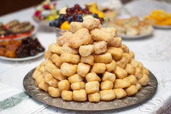 Traditional tatar sweet dessert. Royalty Free Stock Images