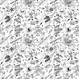 Traditional tattoo biker pattern Royalty Free Stock Photos