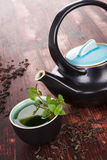 Traditional tea background. Royalty Free Stock Photo
