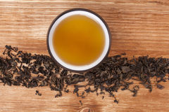 Traditional tea background. Royalty Free Stock Photos