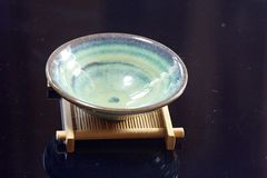 Traditional tea bowl Royalty Free Stock Images