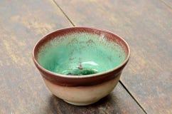 Traditional tea bowl Stock Photo