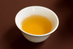 Traditional tea in ceramic cup on Chinese style. Stock Photography