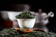 Traditional tea ceremony Stock Images