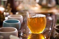 Traditional tea ceremony Royalty Free Stock Photos