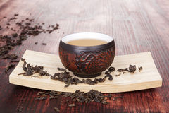 Traditional tea ceremony. Royalty Free Stock Image