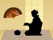 Traditional tea ceremony Royalty Free Stock Images