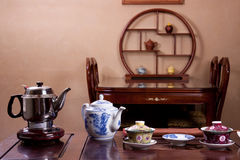 Traditional tea house Stock Image