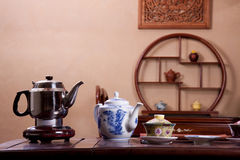Traditional tea house Stock Photos