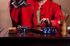 Traditional tea house royalty free stock photo