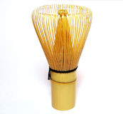 Traditional tea whisk 2 stock image