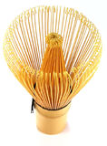 Traditional tea whisk Royalty Free Stock Photo