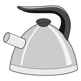 Traditional teapot Royalty Free Stock Images