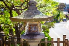 Traditional temple lantern in Takayama Japan Royalty Free Stock Image