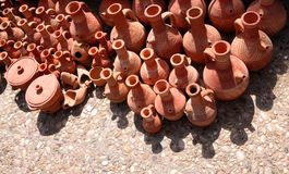 Traditional Terracotta Pottery, Lebanon Royalty Free Stock Images