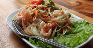 Traditional Thai appetizer with shrimp Royalty Free Stock Image