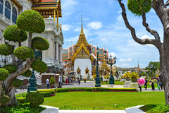 Traditional Thai architecture Grand Palace Bangkok Stock Image
